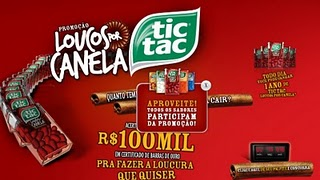 Promoção Tic Tac 2011, Como Participar