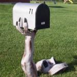 Caixa de correio maluca