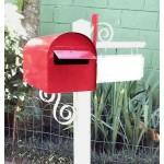 Caixa de correio para jardim