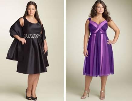 Vestidos Tamanhos Especiais Modelos, Fotos