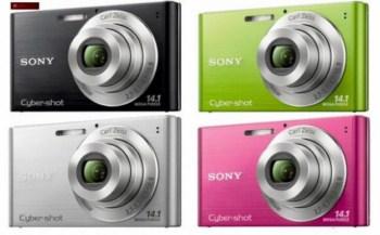 Câmeras Digitais Sony Cyber Shot 2011
