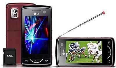 Celulares LG com TV Digital