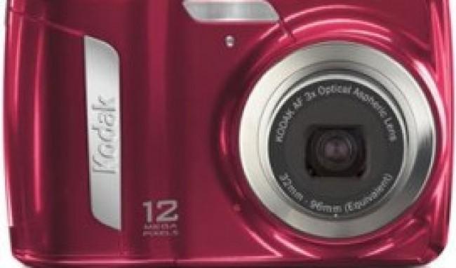 Câmera Digital Vermelha Kodak
