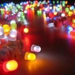 decoração com lampadas coloridas.0docx