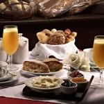 decoração de mesa de café da manhã, fotos 1