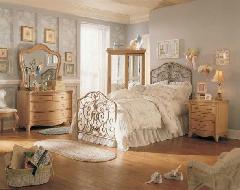 decoração retro para quarto