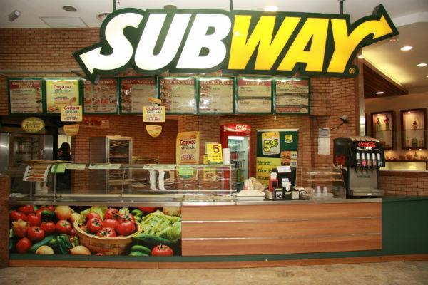 Franquia Subway – Abra sua própria franquia
