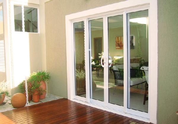 Portas de madeira com vidro para sala mundodastribos Puerta corrediza externa
