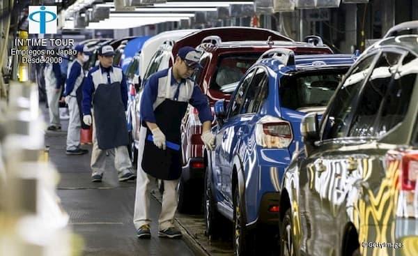 Vagas de Emprego para Brasileiros no Japão Trabalhadores na indústria