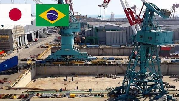 Vagas de Emprego para Brasileiros no Japão bandeira brasileira e do Japão juntas