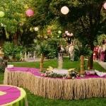 decoração de festa havaiana, fotos