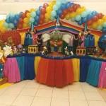 decoração de festa infantil circo 7