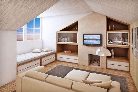 Decora o de sot o dicas - Fotos de lofts decorados ...