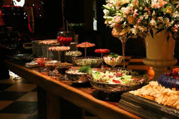 jantar para casamento