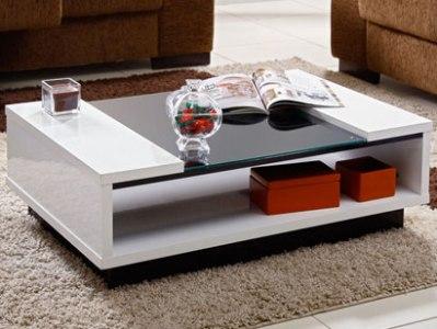 Mesas de centro modernas e decoradas for Modelos de mesas de centro de sala