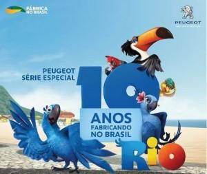 Promoção Peugeot 2011, 10 Anos Fabricados no Brasil