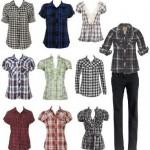 Camisas Xadrez Femininas – Dicas e Fotos