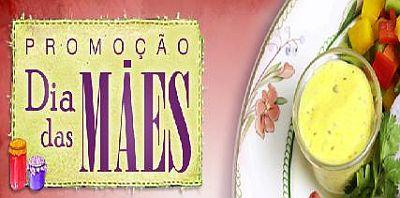 Promoção Almanaque Gourmet para o Dia das Mães