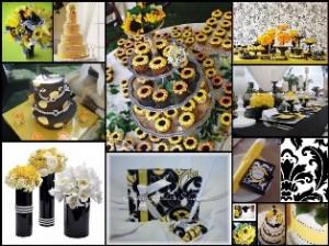 Decoração em Amarelo para Casamento