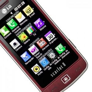Celular LG Scarlet II Vermelho Onde Comprar