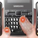 Linha de Aparelhos Messaging Samsung
