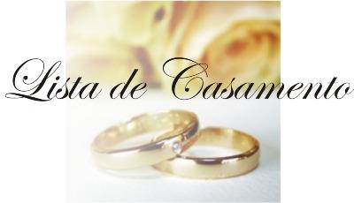 Lista de Casamento o que pedir