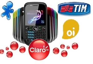 Celular com 4 chips e Wi-Fi