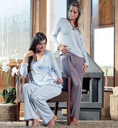 Pijamas Femininos para o Inverno