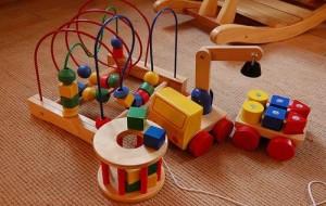 Brinquedos para crianças de dois anos