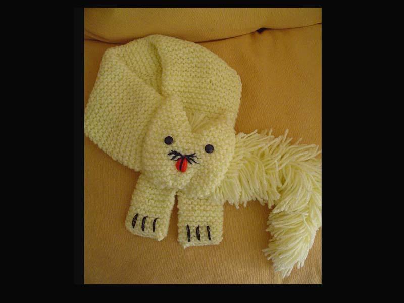 cachecol-infantil-gatinho