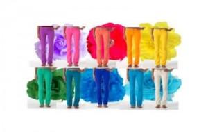 Calças Coloridas Inverno 2011