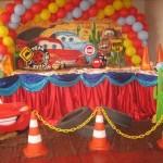 decoração carros festa infantil 2