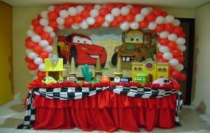 decoração carros festa infantil