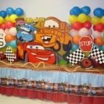 decoração carros festa infantil 4