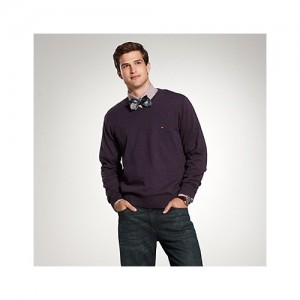 Suéter Masculino com Gola V