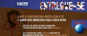 Promoção Lacta Rock in Rio, Como Participar