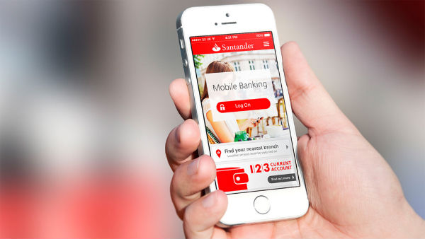Banco Santander no Celular