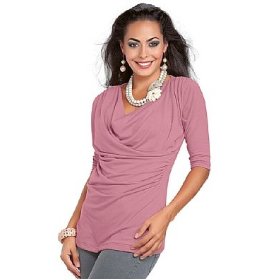 blusa rosa feminina modelos x