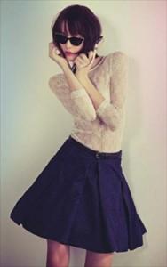 Blusa de Renda Moda 2011