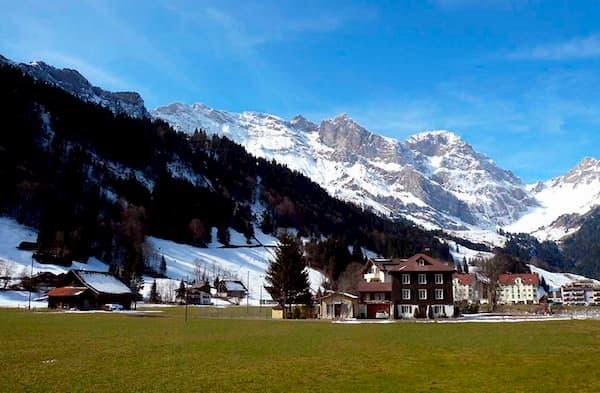 Fotos de Pontos Turísticos no Mundo Alpes Suiços
