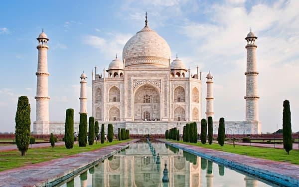 Fotos de Pontos Turísticos no Mundo Taj Mahal