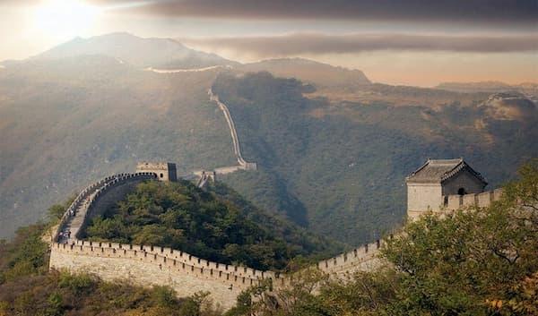 Fotos de Pontos Turísticos no Mundo a grande muralha da china