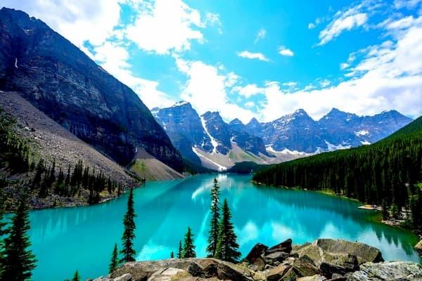 Fotos de Pontos Turísticos no Mundo montanhas rochosas canadá