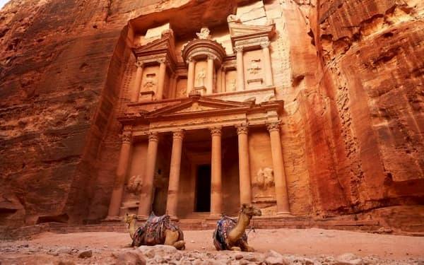 Fotos de Pontos Turísticos no Mundo petra jordânia