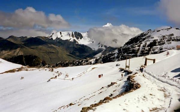 Fotos de Pontos Turísticos no Mundo pico chacaltaya