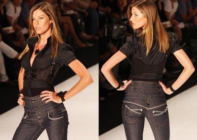 Calça Cintura Alta Jeans Modelos