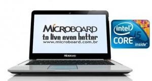 Notebook Microboard i5 com 4gb e 500gb