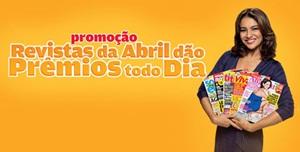 Promoção Revistas da Abril Dão Prêmios Todo Dia, www.premiostododia.com.br