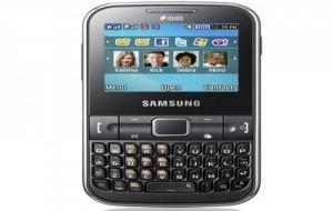 Celular Samsung Dual Chip c3222 Teclado Qwerty