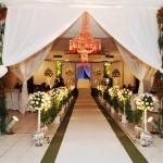 fotos de decoração de casamento na igreja 3